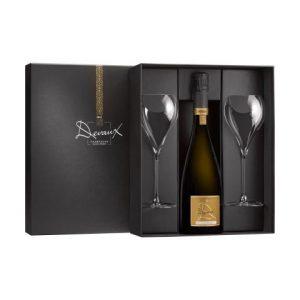 Champagne Devaux Gift Set